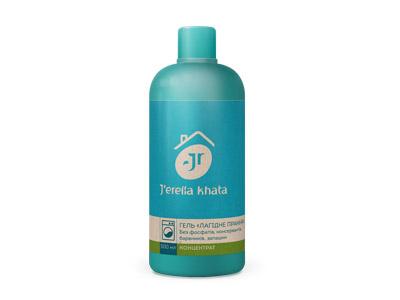 """Jerelia Khata Гель """"ЛАГІДНЕ ПРАННЯ"""" Без фосфатів, консервантів, барвників 07110 - Джерелия: Джерелія: Jerelia - компания продукция товар"""