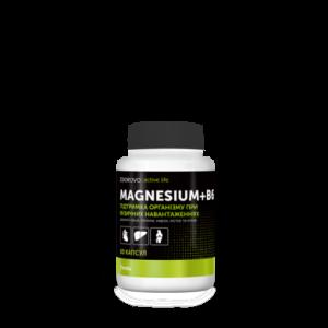 Джерелія-02201, Біологічний комплекс Magnesium+B6, Jerelia Zdorovo Active Life