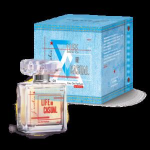 Джерелія: Парфумована вода для жінок Life in casual, Jerelia Parfa 24069