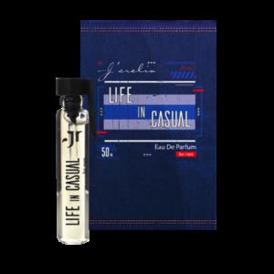 Джерелія: Пробник парфумованої води для чоловіків Life in casual, Jerelia Parfa 24070