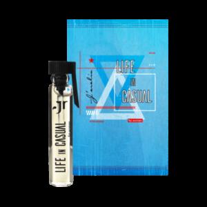 Пробник парфумованої води для жінок Life in casual, Jerelia Parfa 24071