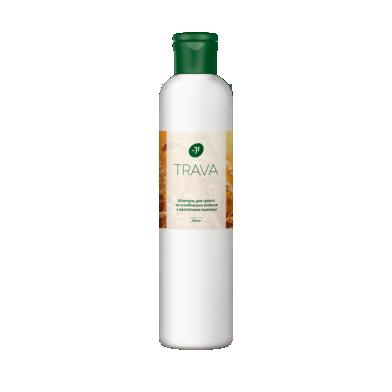 Джерелія-05821, Шампунь для сухого та ослабленого волосся з протеїнами пшениці, Jerelia Trava