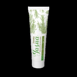 Джерелія-08309, Зубна паста для всієї родини з екстрактом розмарину, зеленого чаю та прополісу, Jerelia Yasna